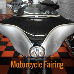 Motorcyle Fairings for Harley-Davidson, Honda, Kawasaki, Suzuki, Triumph, Victory, Yamaha and Indian bikes by Wide Open Custom