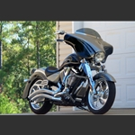 Wide Open Custom Motorcycle Fairings For Victory Kingpin Bikes