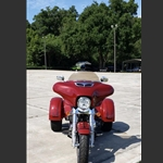 New product Wide Open Custom Harley Davidson Free Wheeler Airflow Fairing