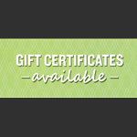 Wide Open Custom Gift Certificate Available!