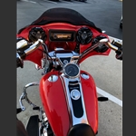 New product Wide Open Custom Harley Davidson Free Wheeler Road Glide Fairing