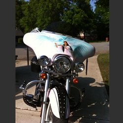 Motorcycle Fairings For Kawasaki Vulcan 900 Bikes