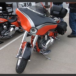 Wide Open Custom Motorcycle Fairings For Harley-Davidson CVO Convertible Bikes