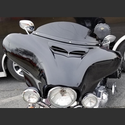 New product Wide Open Custom Harley Davidson Fatboy Airflow Fairing